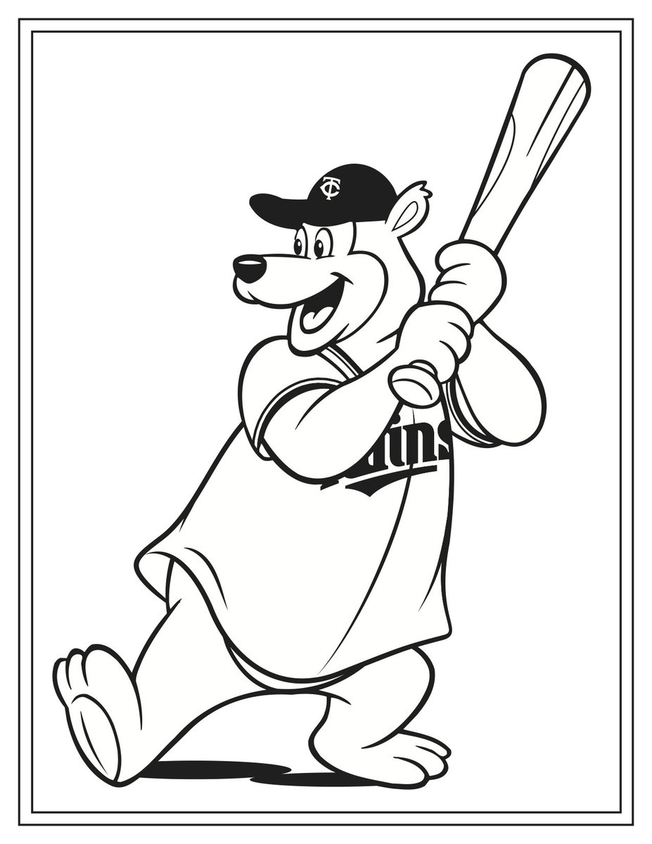 Minnesota Twins On Twitter Tc 00 Found More Coloring Pages Find These More At Https T Co Jlyljl3loi Mntwins We Want To See Your Masterpieces Https T Co Fejx4iqhuv