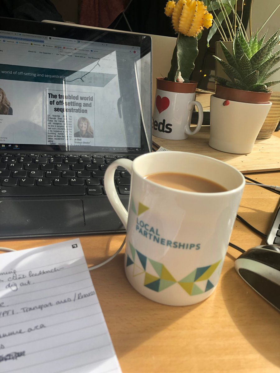 We're missing Westminster but, thankfully, tea tastes just as good at home. We're still here to help with any assistance you might need at this time.  Stay safe & should you experience any problems with contractors - #Covid19 or otherwise - contact us.  - Local Partnerships Team