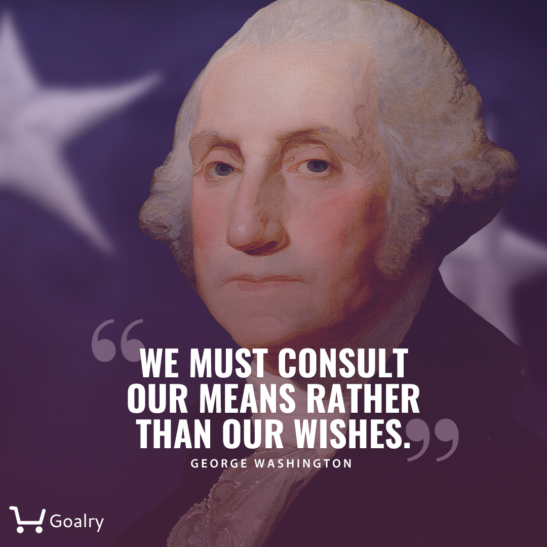 We must consult our means rather than our wishes. #georgewashington #money #moneyquotes #moneytips #finance #financequotes #loan #usafinance #quotespic.twitter.com/JUpLsN8J8q