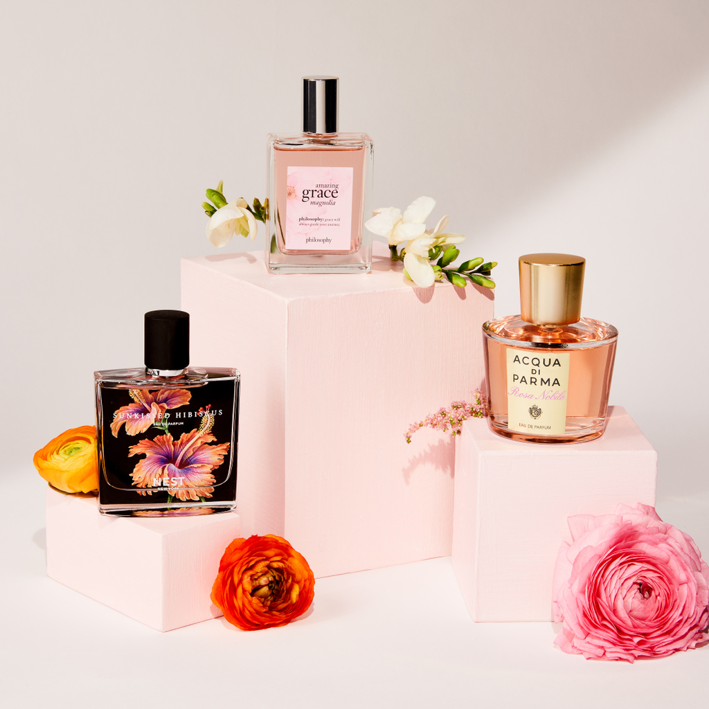 Our top 3 scents for the floral gals ✨ 🌸Rosa Nobile by acquadiparma_official 🌸Morning Grace Magnolia by @lovephilosophy 🌸Sunkissed Hibiscus by @Nestfragrances https://t.co/F8nPHu4wHY