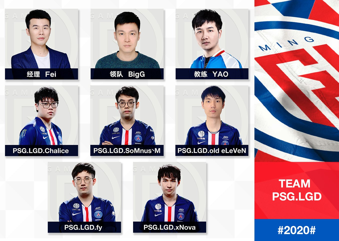 Lgd Gaming On Twitter Official Announcement Psg Lgd Dota 2 1 Yang Old Eleven Wei Will Be On Loan From Ehomecn To Lgd Playing As Pos 3 2 Yang Chalice Shenyi To