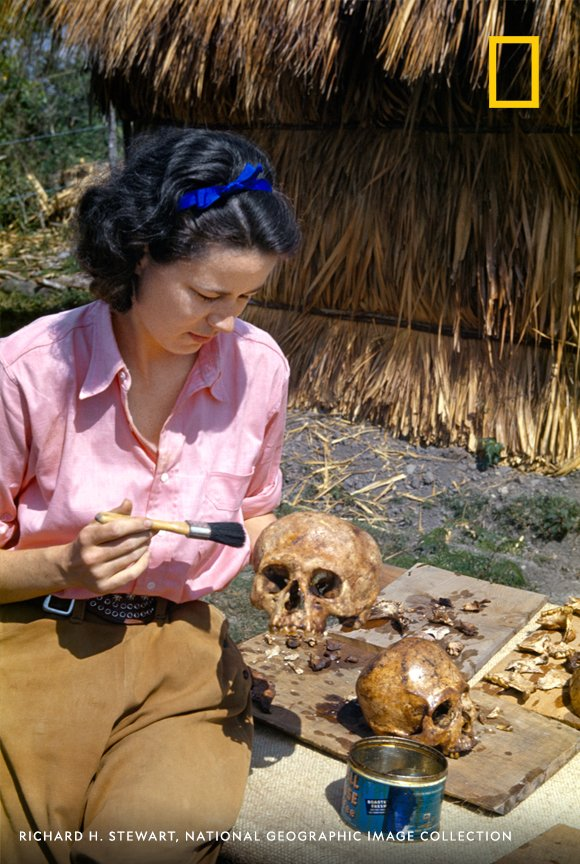 Marion Stirling Pugh helped conduct expeditions that reshaped understanding of Mesoamerican history. And in 1939, she calculated that a calendar carved in a monument referred to the year 31 B.C., making it the oldest date recorded in the New World at the time. #WHM2020 https://t.co/ye3H7OcXFH