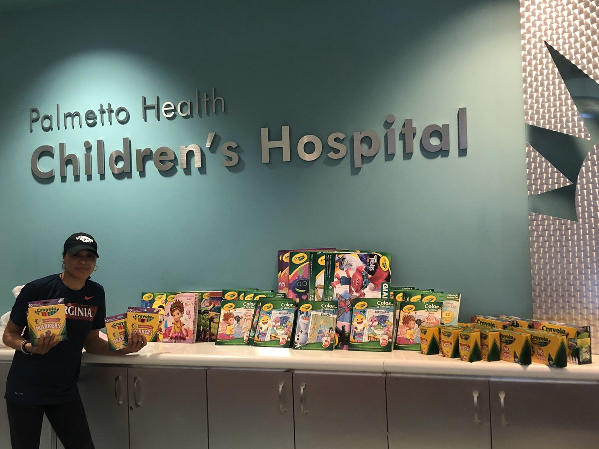 @JudiGatson thank you for posting @PalmettoHealth Children's Hospital was in need of some items for the kids.  Sending this out because I know there are lots of people who would want to help.  #CoronaVirusChallenge https://t.co/u6EUppcIqH
