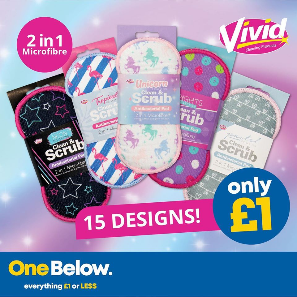 At One Below their anti-bacterial microfibre clean and scrub pads are flying off the shelves  15 lovely designs to collect #clean #mrshinchhome #mrshinch #hincharmy #onebelow #bargainshopper #bargain #bargainhunting #bargainhunter #hinching #hinchhaul #hinched #hinchhomepic.twitter.com/hgBQ8xv2L5