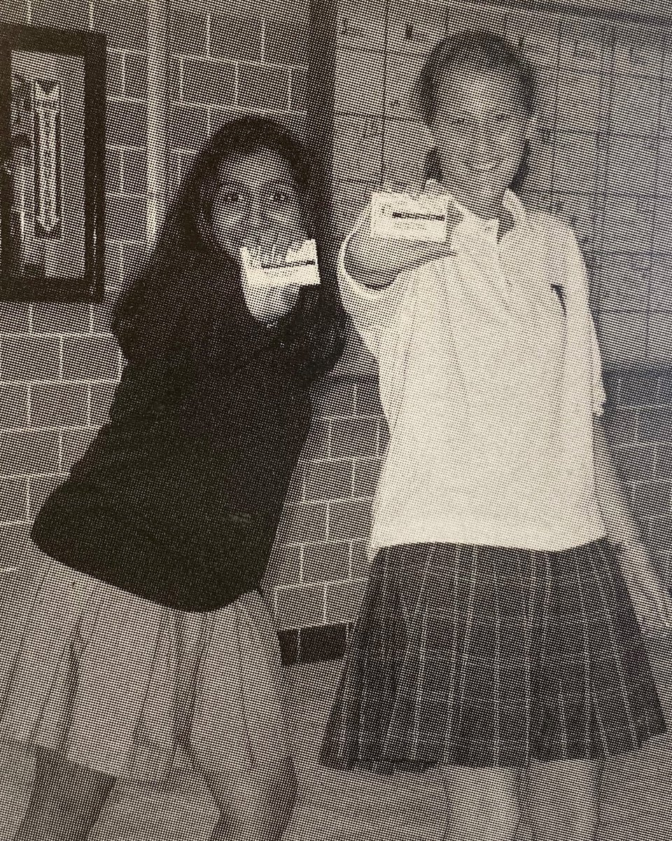 Falcon Flashback - Year 2005 - Seniors stop to show off their new laminated permanent hall passes for yearbook.   #DCFalcons #FalconFlashback #DCHS #Year2005 #DC #OnceAFalconAlwaysAFalconpic.twitter.com/YNS4BSghss
