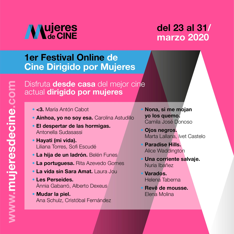 festival online cine mujeres