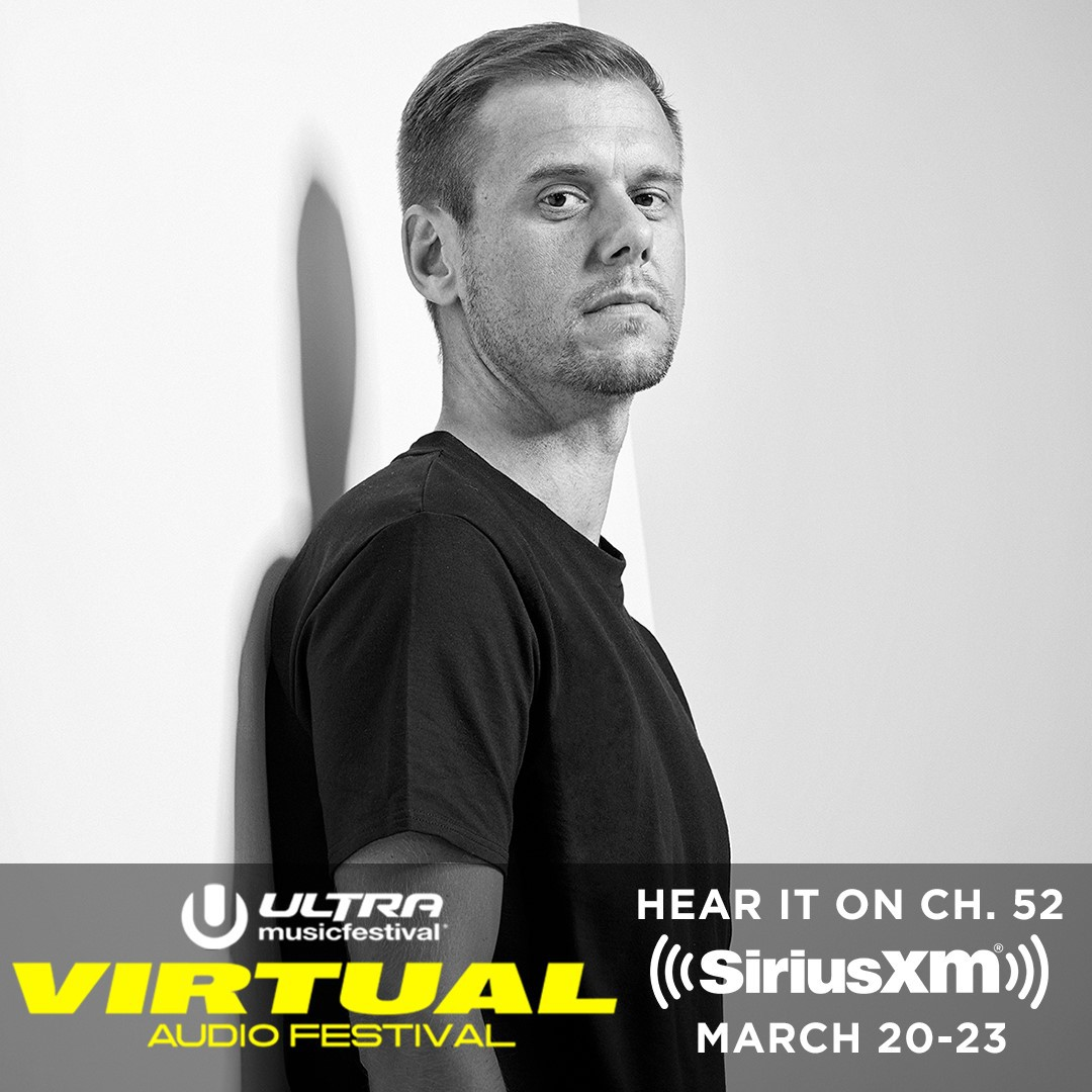 Tune in to @SiriusXM at 7pm (ET) to hear my virtual @ultra set 😄 @SXMElectro