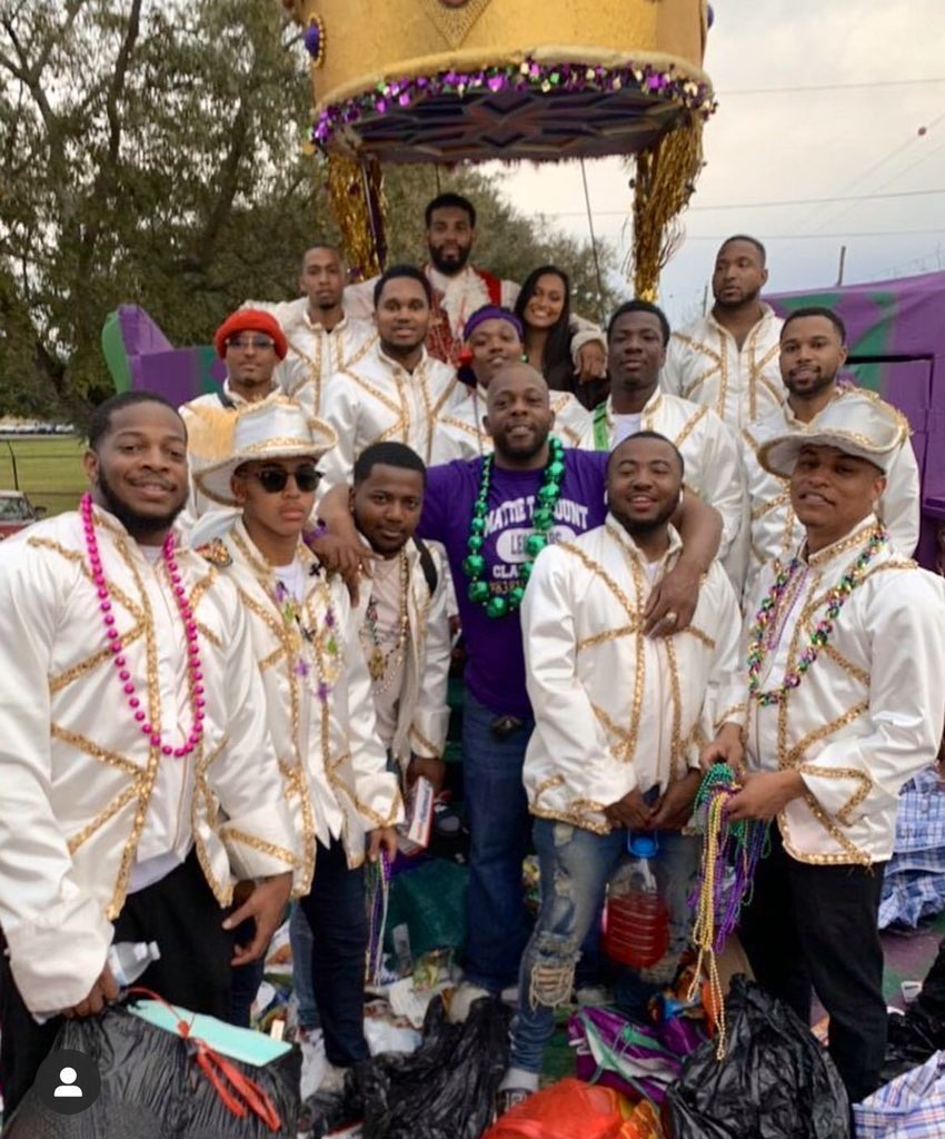 I look at this picture & it's wild  to me that If all this craziness was going on a month ago we would've been the 2020 Corona Court  hardest court in a while tho!! #MobileMardiGras #MAMGA2020pic.twitter.com/aeHJW5ioAj