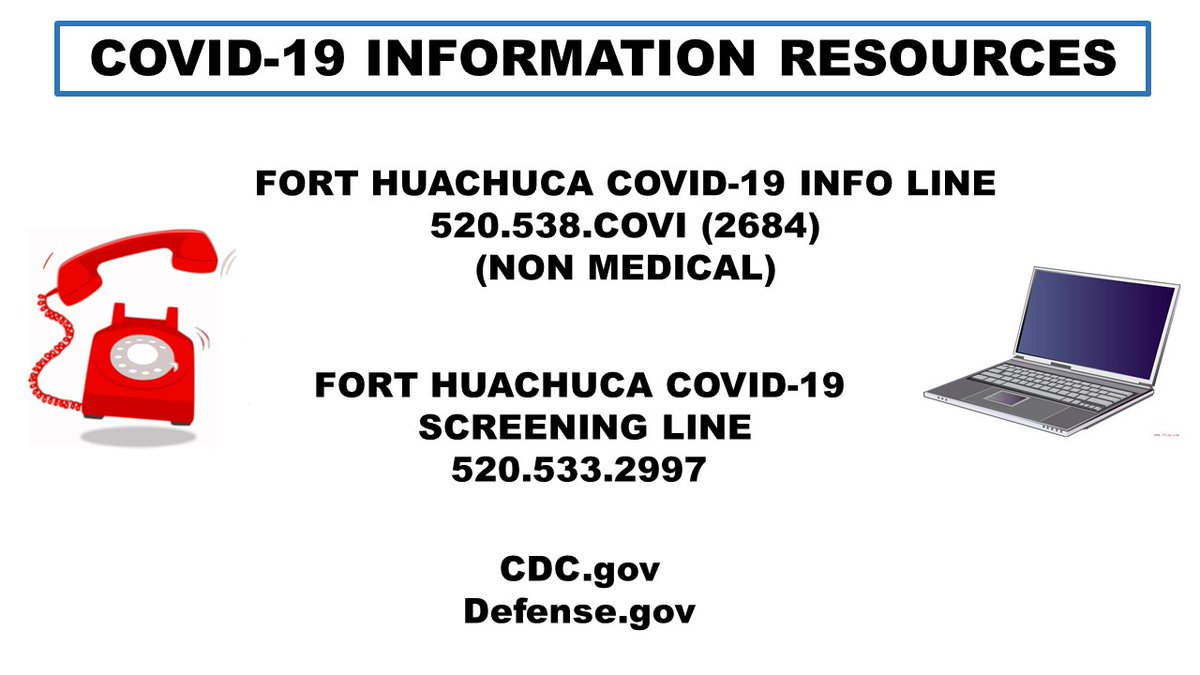 Fort Huachuca Arizona (@Fort_Huachuca) on Twitter photo 20/03/2020 17:19:03