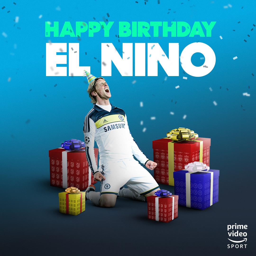3️⃣6️⃣ today 🙌 Happy birthday, @Torres 🎁