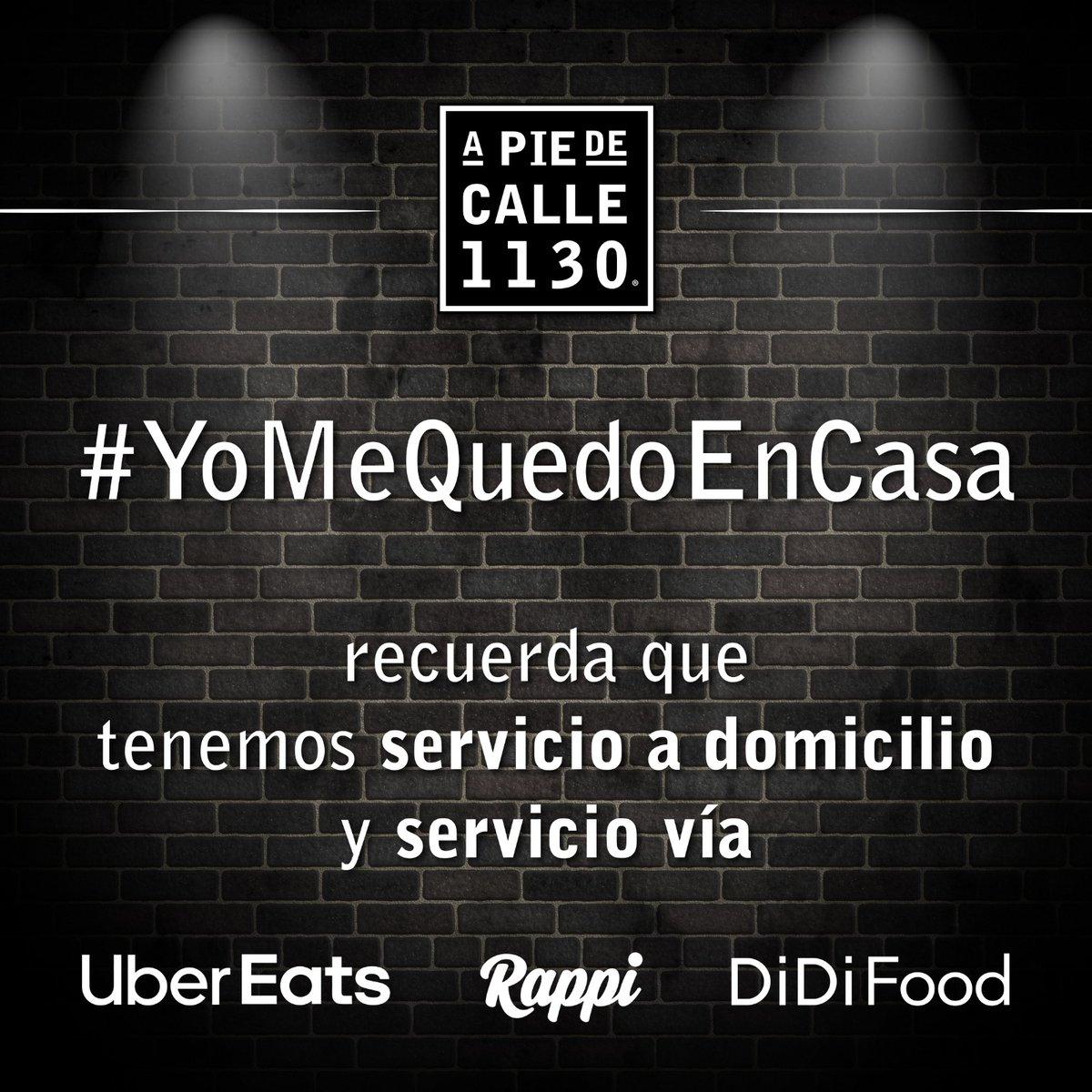 ¡No olvides que tenemos #ServicioADomicilio, comunicándote al 55 5585 3538 y nosotros te lo llevamos! ¡También, puedes encontrarnos en #UberEats, #Rappi y #DiDiFood! ¡#YoMeQuedoEnCasa!   #DondeComer #APieDeCalle #CDMX #ZonaSur #OlivarDeLosPadres #AvToluca1130 #2X1 #BBQ