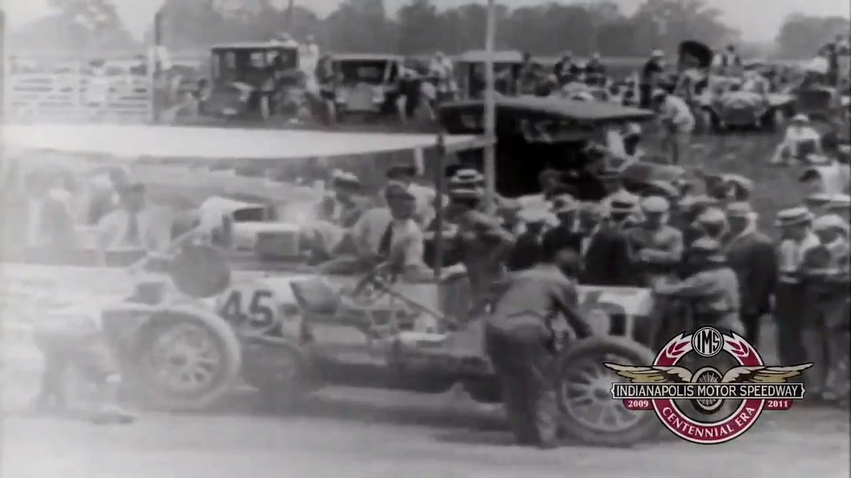 Take a Sunday ride down memory lane with this incredible newsreel from the 1911 #Indy500.  Read the story of how it all began at #IMS >>> https://bit.ly/3a5om4o