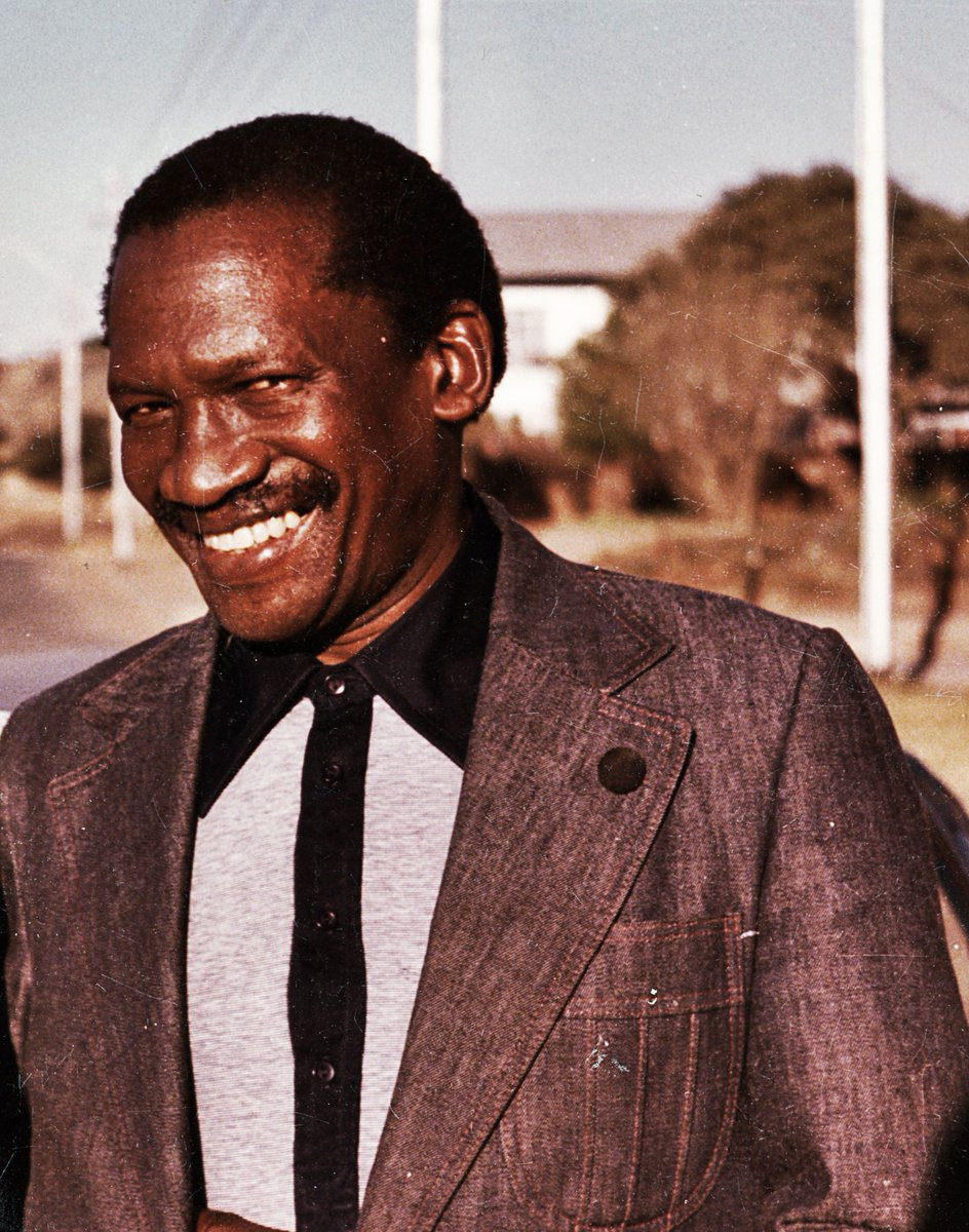 Before Nelson Mandela, there is a man amongst men. Never forget this man Robert Mangaliso Sobukwe, the man behind Steve Biko,this legend was isolated in Robben Island alone,banned from talking with anyone fighting for change in South Africa #HumanRightsDay