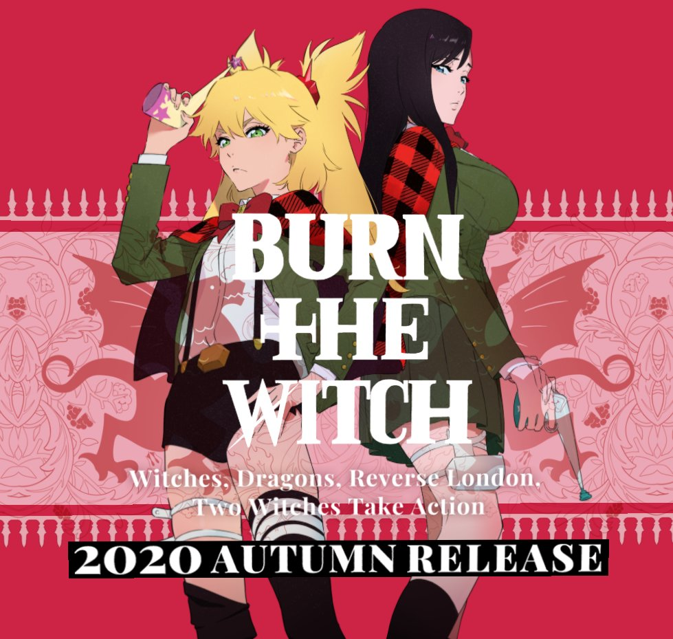"A.I.R (Anime Intelligence (and) Research) on Twitter: ""The official ""BURN  THE WITCH"" anime movie website has launched https://t.co/bQDZyJIKLh… """