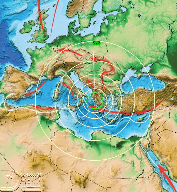 News Burst 21 March 2020 - M5.7 Greece 21 March 2020  00:49 UTC