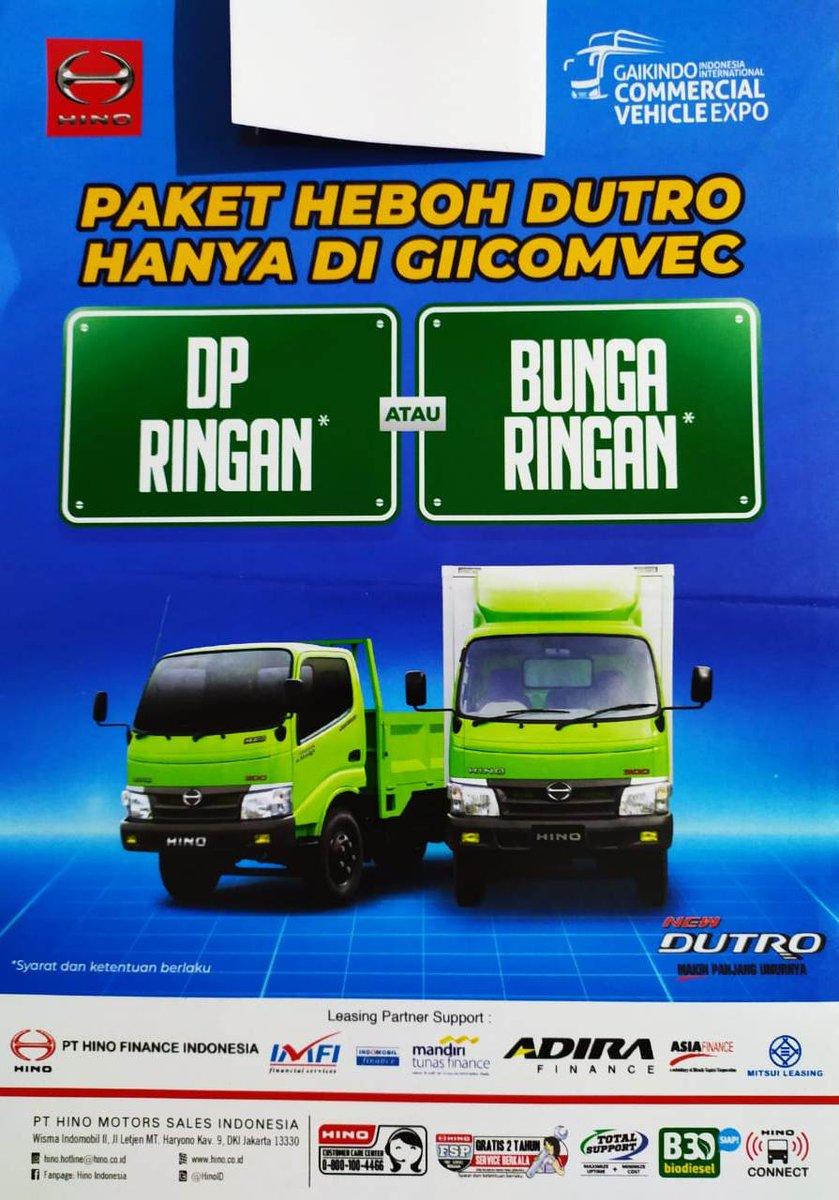 Paket Heboh Hino Dutro, DP ringan atau bunga ringan