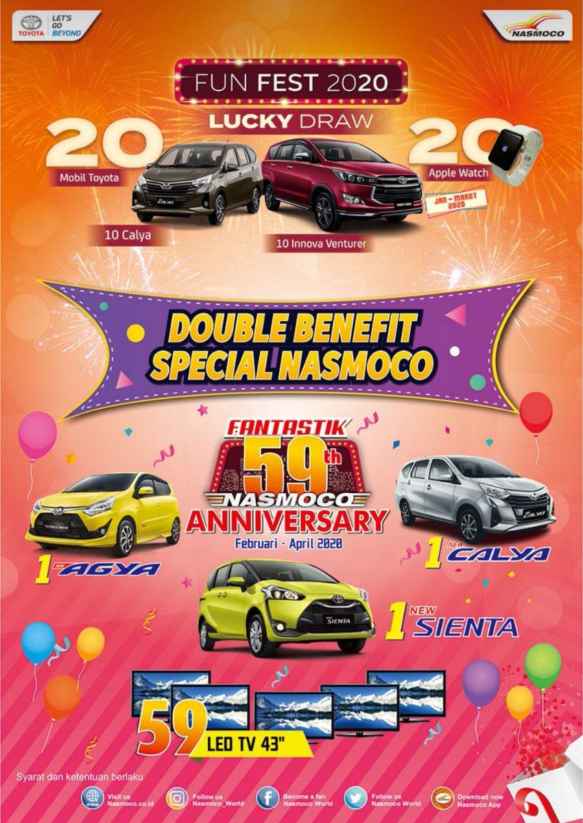 Promo Double Benefit Special Nasmoco