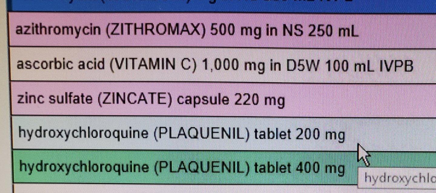 hydroxychloroquine vs zithromax capsules