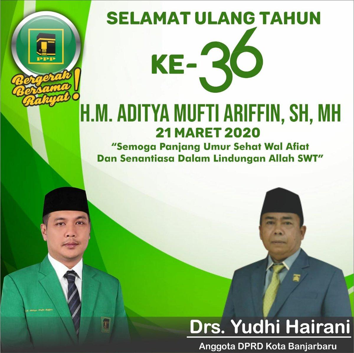 "Koran Banjar On Twitter ""Selamat Ulang Tahun Bapak H M"