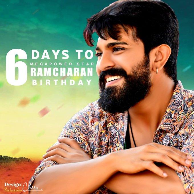 To MegaPowerStar Ram Charan Birthday  Advance Happy Birthday Annayya