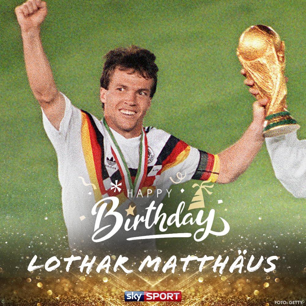 Sky Sport On Twitter Eine Legende Feiert Ihren Ehrentag Alles Gute Zum 59 Geburtstag Sky Experte Lothar Matthaus Fifa Weltfussballer 1991 Weltmeister 1990 7x Deutscher Meister 2x Dfb Pokal Sieger