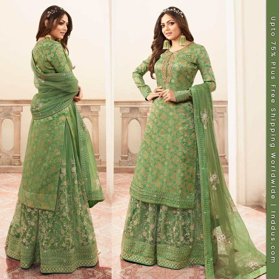 Add a touch of ethnicity to your wardrobe! Shop Inddus, NOW: http://www.inddus.com/bollywood-salwar-suits…  #bollywoodfashion #bollywooddress #bollywoodactresses #bollywoodoutfits #bollywoodpartyoutfit #fashion #indianwear #ethnicwear #indianbride #lehenga #ethnic #fashionblogger #indianweddingpic.twitter.com/6gpmMx7NUk