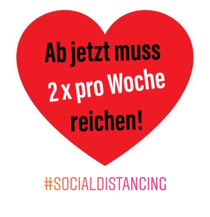 #SocialDistancing