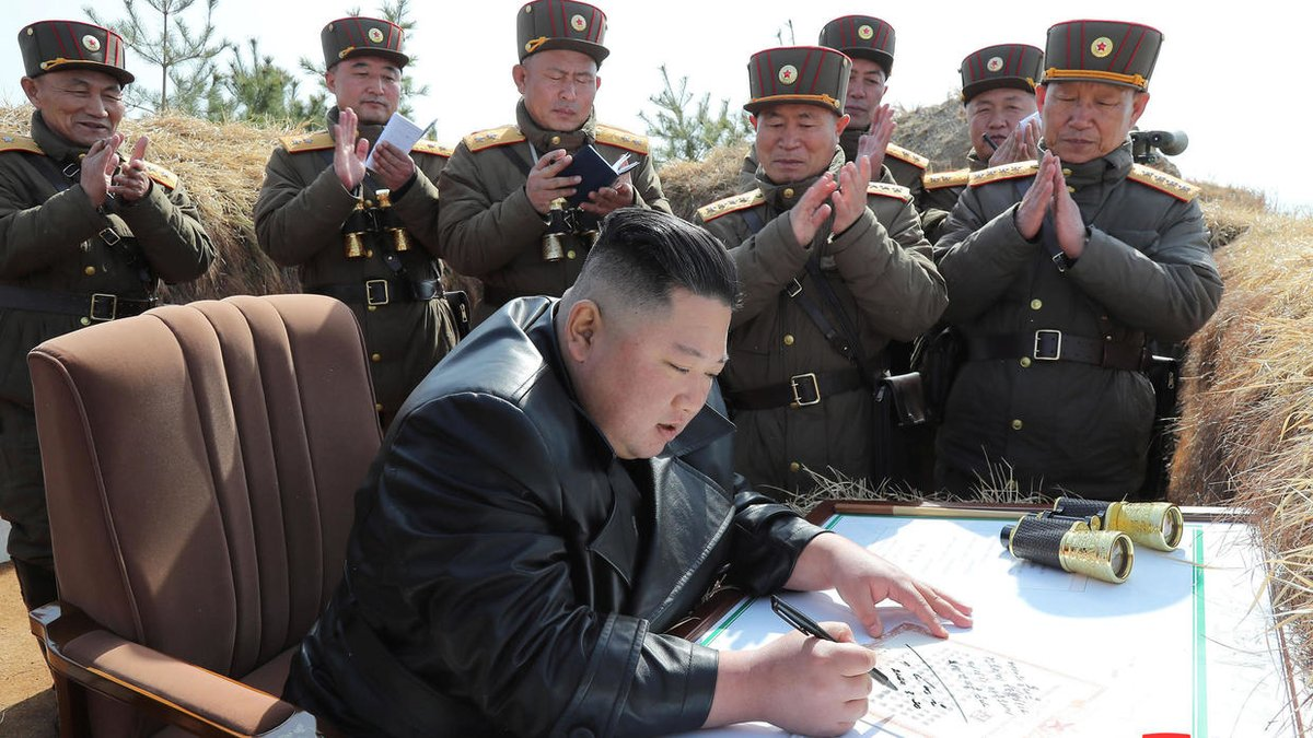 North Korea fires 'ballistic missiles' into sea
