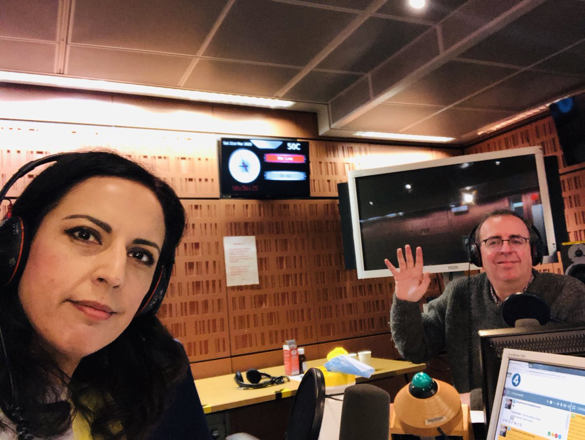 Two metres apart. On Radio 4 at 9 o'clock. Featuring Bob Geldof and others. #bbcsaturdaylive ⁦@RevRichardColes⁩