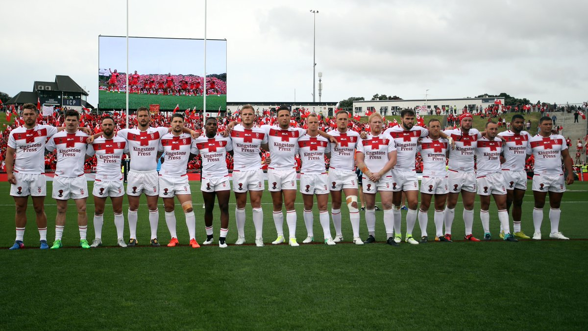 #EnglandRL's route to the 2017 Rugby League World Cup Semi-Final:   18-4 loss vs @Kangaroos   29-10 victory vs @LebanonRL   36-6 victory vs @FFRXIII   36-6 victory vs @PNG_Kumuls    Watch them face @TongaNRL 'live' as part of our #OLArchives this evening from 6pm!pic.twitter.com/FCCbRziGot