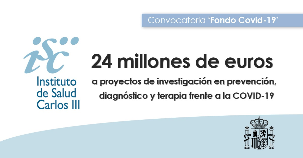 Instituto de Salud Carlos III (ISCIII) (@SaludISCIII) | Twitter