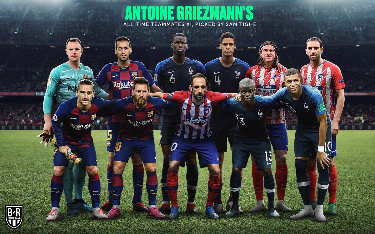 @brfootball's photo on Griezmann
