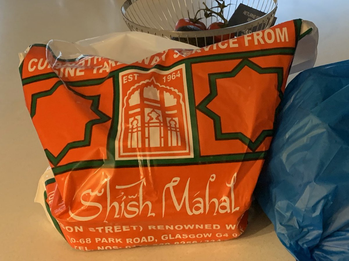 Phone order and Pickup with Contactless Payment, also home delivery depending on your location... nothing beats a #shishmahal on a Saturday Night @SHISHMAHAL1 @GlasgowWEToday @GlasgowCC @peoplemakeGLA #StayAtHome #Glasgow #ScotlandIsNow #COVID19 #SaturdayNightTakeway #Foodie https://t.co/fXb0p5gddI