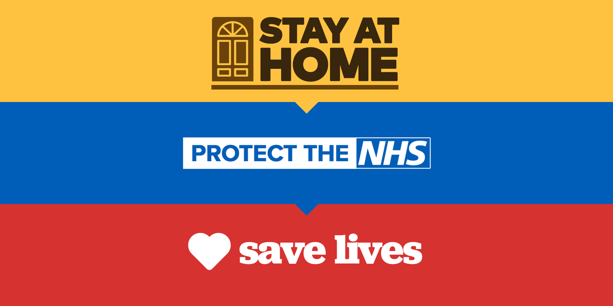 Retweet to spread the word. #StayHomeSaveLives