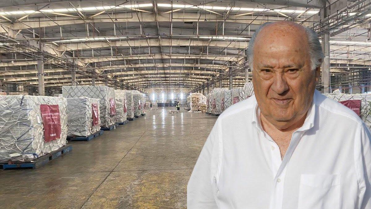Marchando el cargamento sanitario gracias a Amancio Ortega. El de las limosnas. ¡Vaya lección a tanto ridículo! Foto @okdiario https://t.co/O99JmT0bnJ