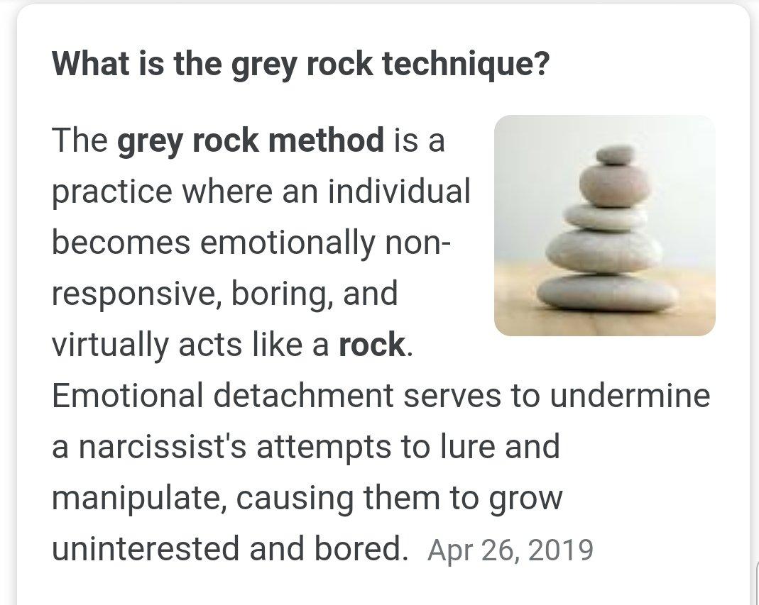 Rock method grey The Gray