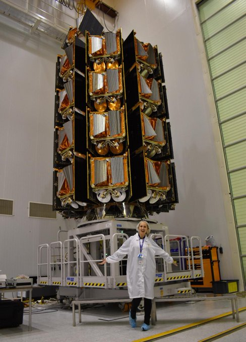 Satellites launch – Round 3. Congratulations to the whole Atos team for their work...
