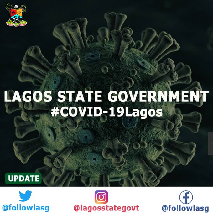 Breaking! #COVID19Lagos - Lagos has confirmed 7 new cases of #COVID19