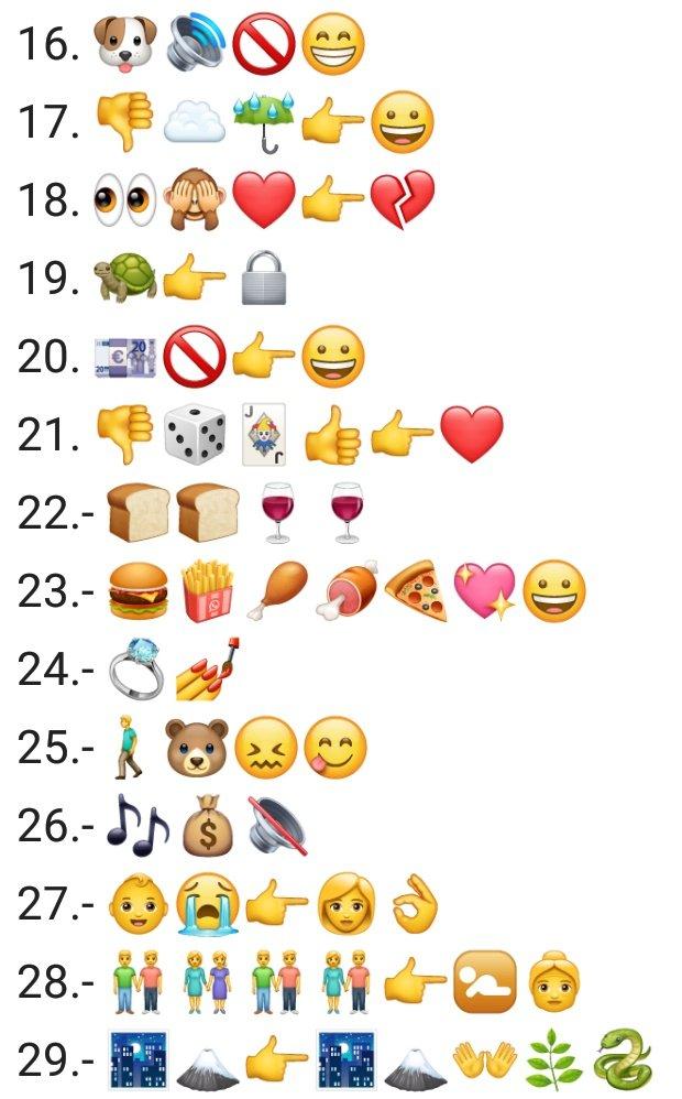 El Sir On Twitter Les Dejo 45 Refranes Con Emojis Hay Algunos Imposibles El 22 Al Pan Pan Y Al Vino Vino