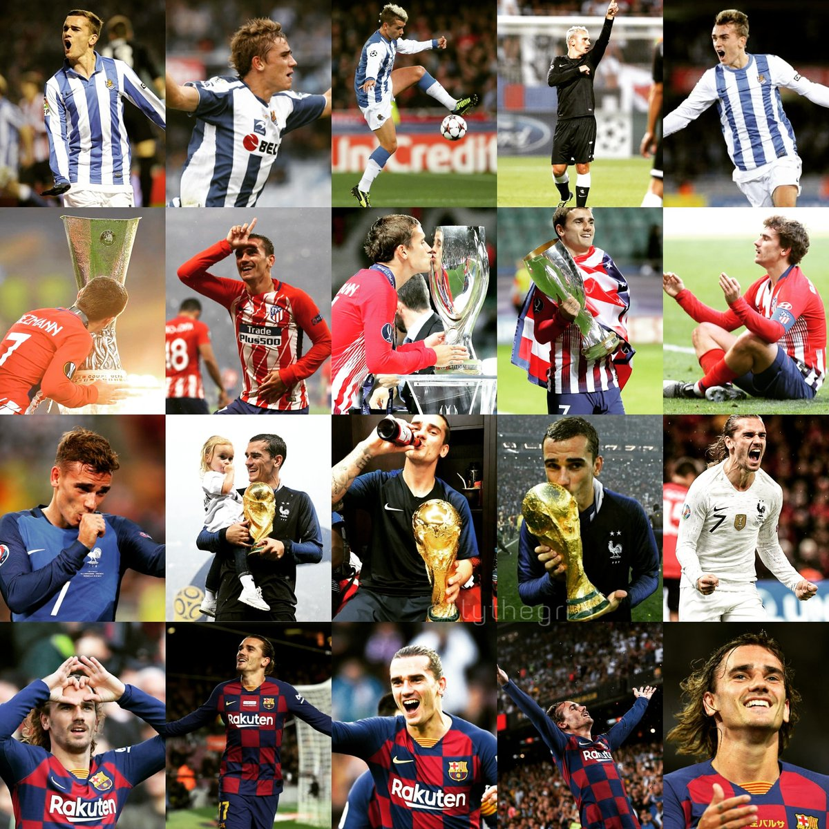 Happy birthday Anto, you are a player and a person that I admire very much, you will always be a great inspiration for me, continue to live happily and with love.  #TeamGrizi @AntoGriezmannpic.twitter.com/kJAbumgLuz