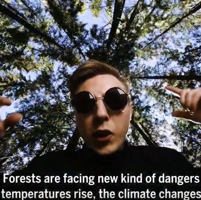 Who ever said that SDG research should be boring? Enjoy the presentation that Samuli Junttila, from University of Helsinki, Finland, made about his research on health condition of trees in the context of climate change. #DanceyourPhD