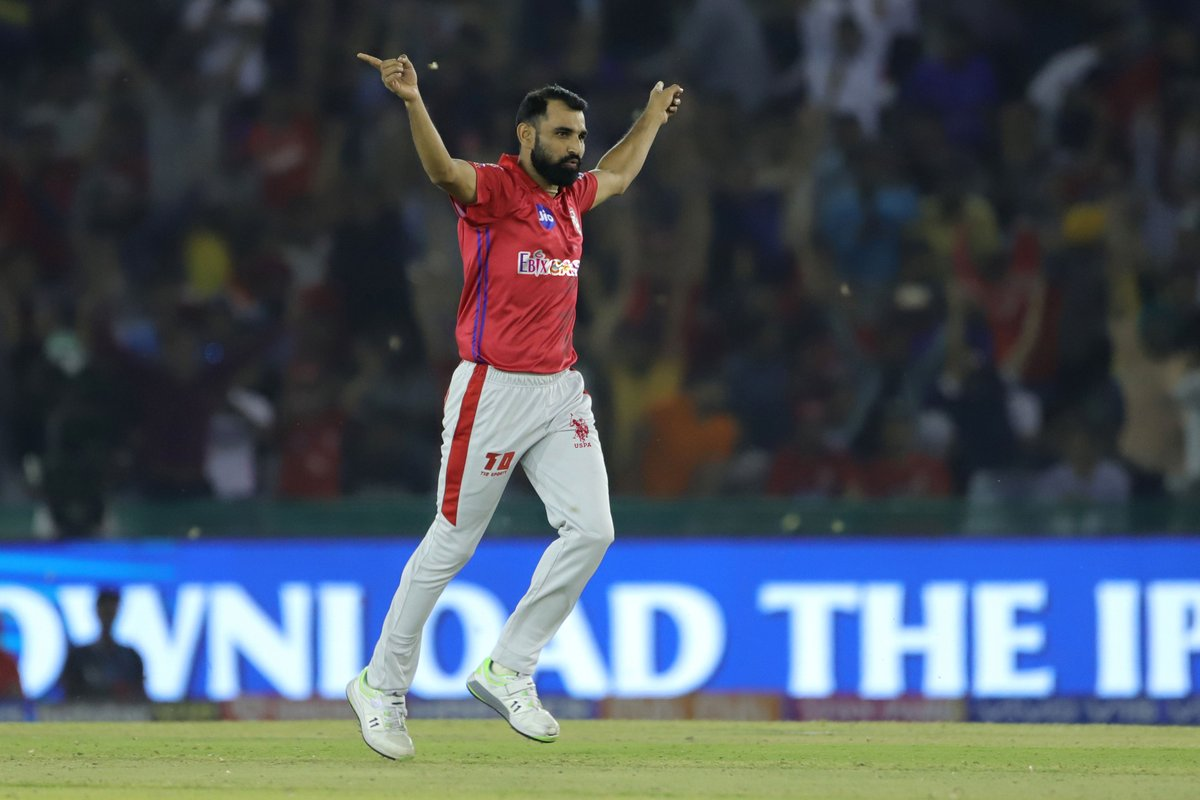 Some were caught, some were LBW'ed, but most of them were bowled! 😛  Tell us how many wickets did @MdShami11 take in #VIVOIPL2019? 🤔👇🏼  #SaddaPunjab #Quizintine https://t.co/OketuyHsVQ