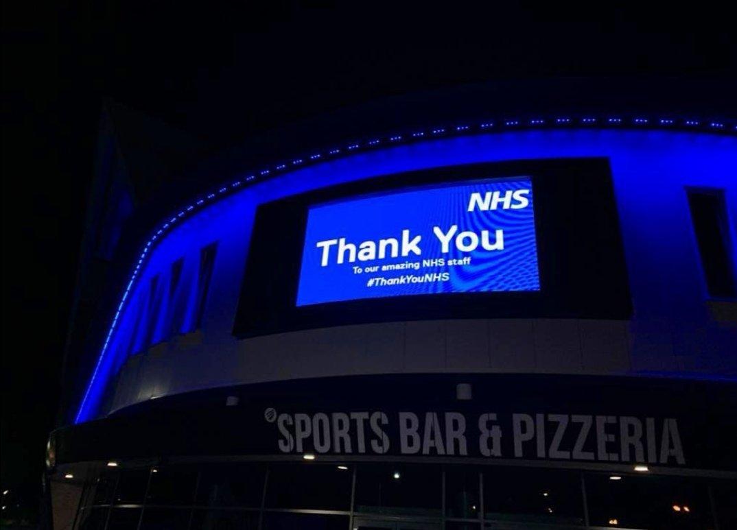Tonight at Bristol City - Ashton Gate Stadium!! #BristolCity #AshtonGate #NHS #ThankYouNHS #NHSstaff #nhsworkers #CoronavirusPandemic #coronavirusuk #coronavirus #covid19UK #COVID19pic.twitter.com/0bnmBp5dta