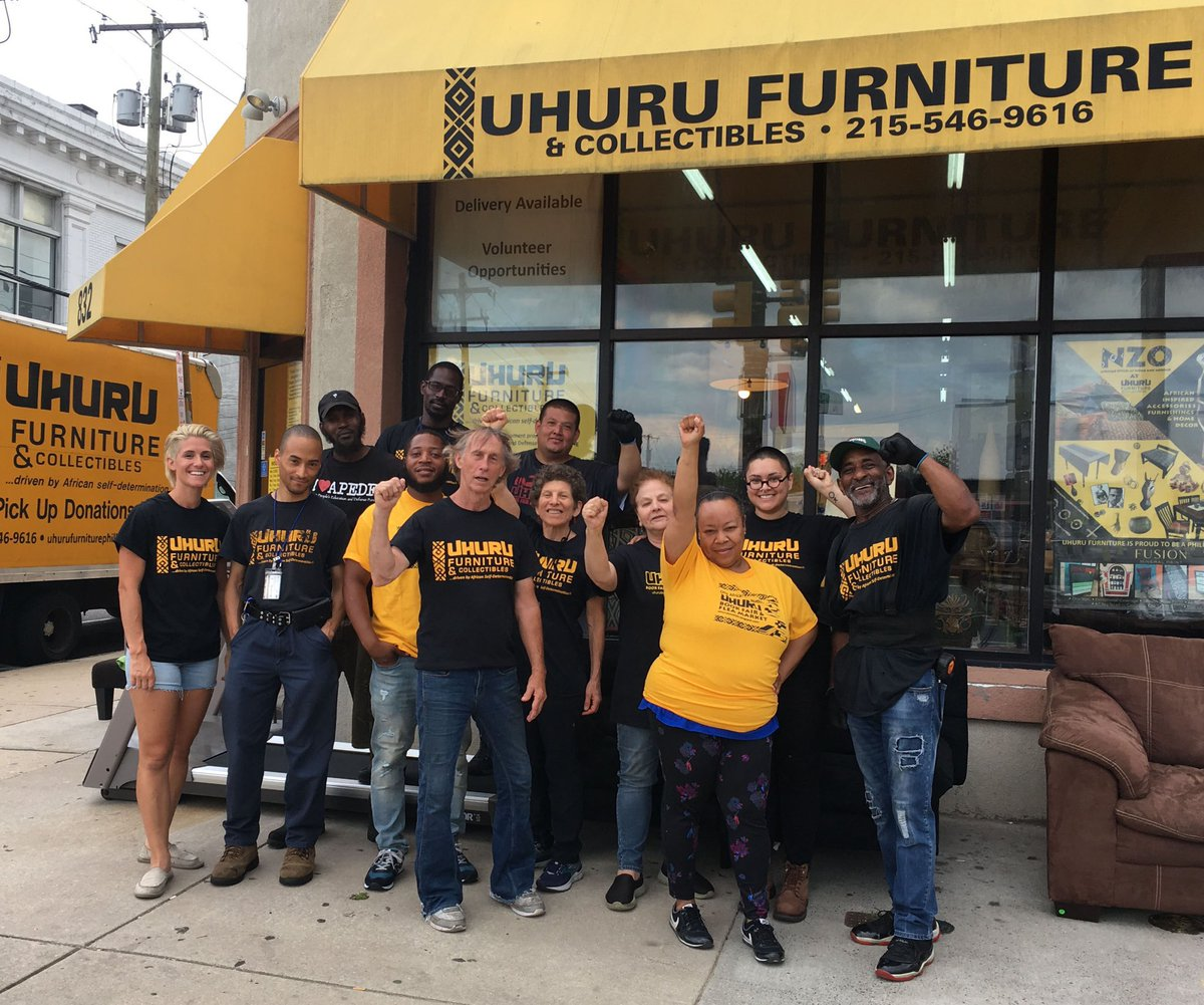 """Uhuru Furniture PHL on Twitter: """"Our sister non-profit All African"""