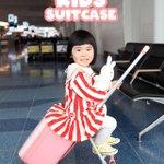 子どもが乗れるスーツケース?子どもも荷物も一緒に運べる!