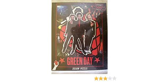 ICUP 30326 GREEN DAY Jigsaw Puzzle