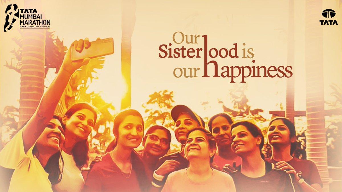 Jab kadam ek saath muskurate huein badhte hai, khushi se hum apne aap gungunaatein hain 😃  Watch Poonam Metta share her Sisterhood of Running story of happiness on https://bit.ly/33JwPI8  You can also share your Sisterhood story with us at tatasisterhoodofrunning@procam.in
