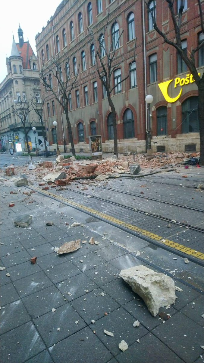 Tena Prelec On Twitter As If Things Were Not Bad Enough A Strong Earthquake Has Shaken Zagreb And Nw Croatia In The Early Morning Hours Magnitude 5 5 It Was Felt All The