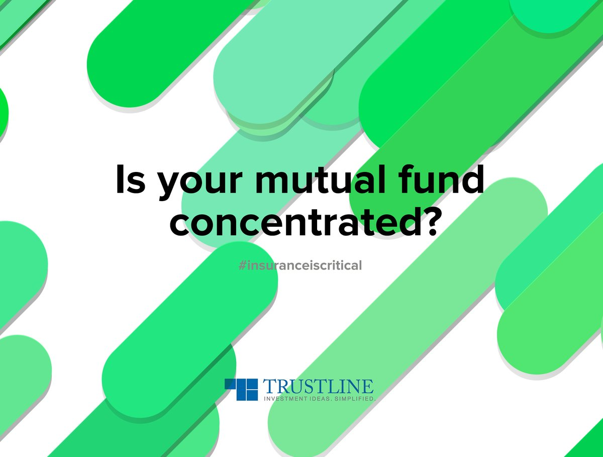 Even diversified funds may hold a concentration of their more significant holdings. They can get you higher profits, and also backfire if the strategy goes wrong.  #investinmf   https://www.trustline.in/wealth-management …