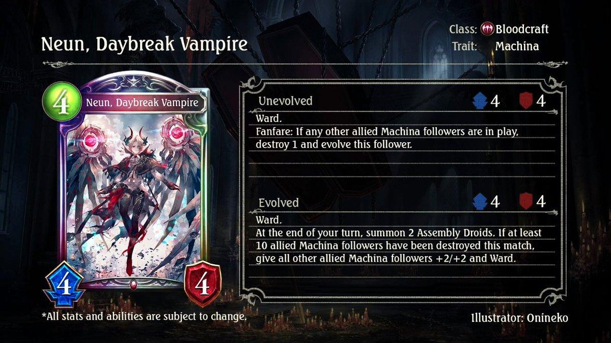[情報] 吸血鬼傳說卡